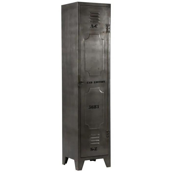 armoire 1 porte en acier atelier metal