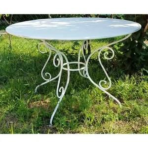 salon de jardin casa padrino table de jardin en fer forge couleu