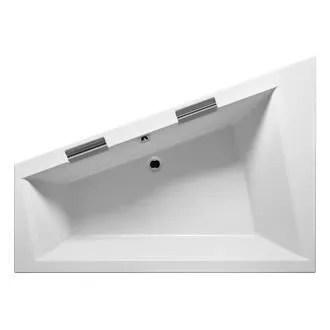 baignoire kit balneo grande baignoire d angle droite acrylique riho dop