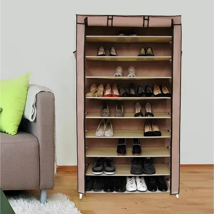 meuble a chaussures songmics xxl armoire etageres a