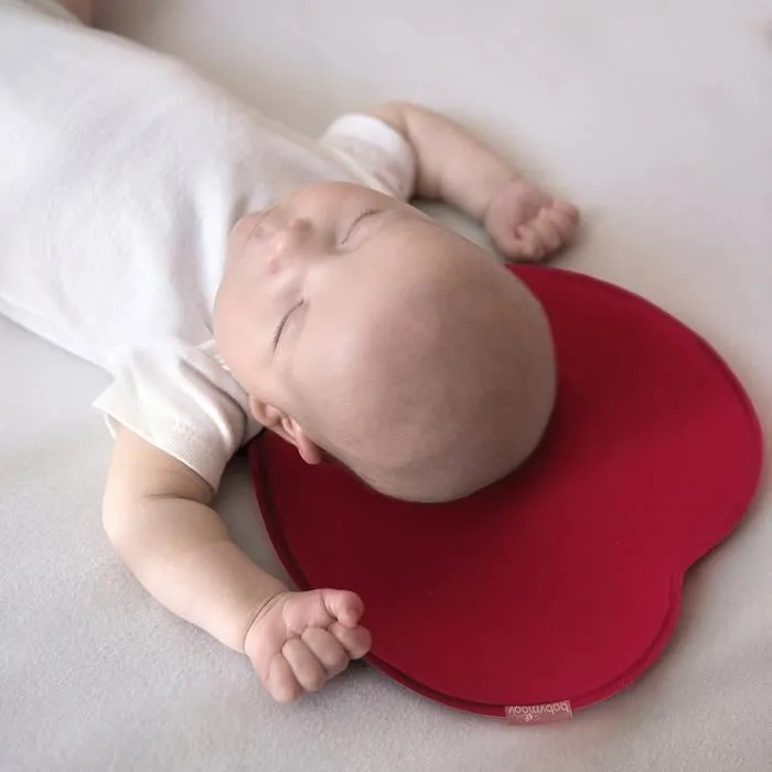 remycoo oreiller bebe pour plagiocephalie original cale tete bebe coussin de maintien anti tete plate cale tete bebe