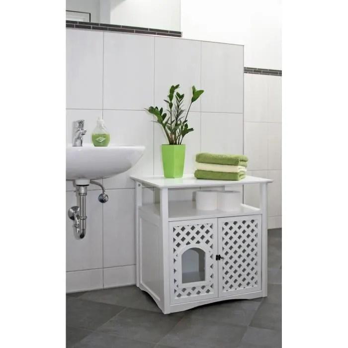 kerbl armoire pour toilette a chat