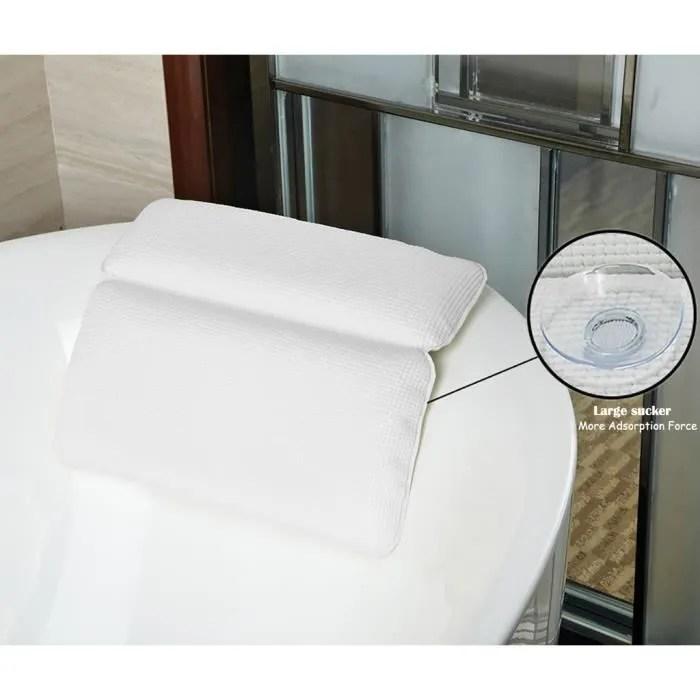 coussin halovie oreiller de bain pour baignoire spa de gra