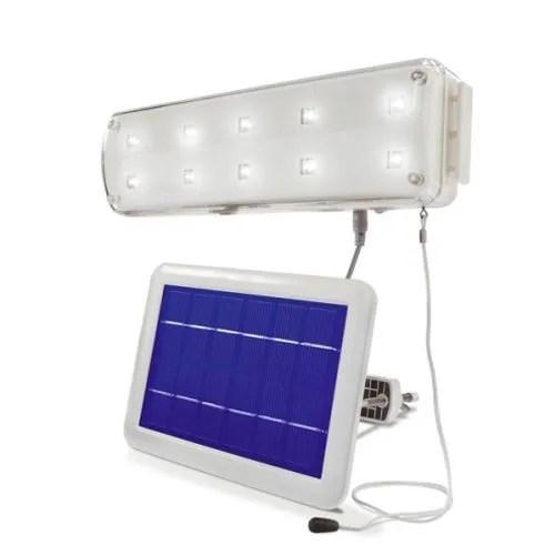 lampe solaire abri de jardin 10 led