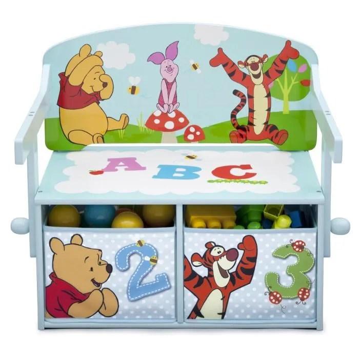 bureau bebe enfant winnie l ourson bureau banc enfant convertible a