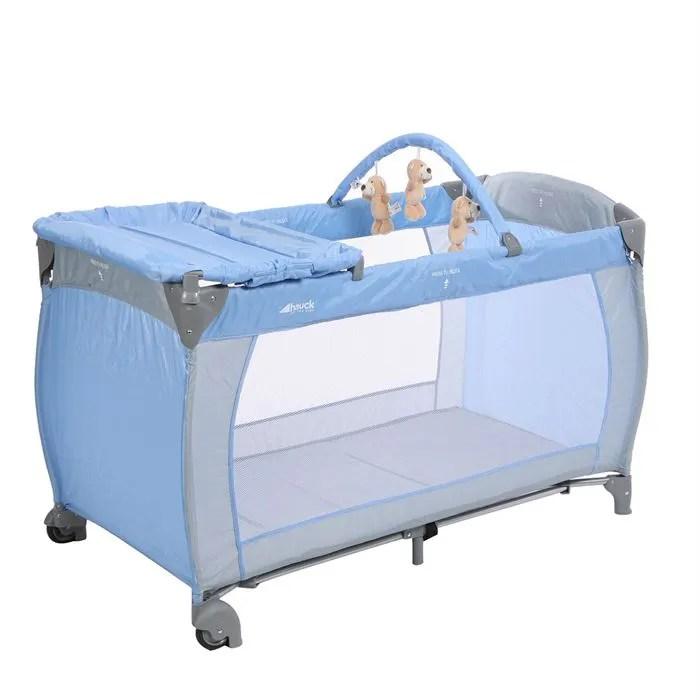 HAUCK Lit Parapluie Baby Center Bleu Achat Vente Lit