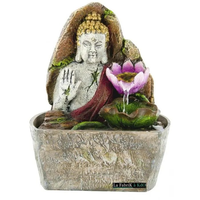 Free Fontaine Duintrieur Tete Bouddha Relax Mur Dueau With