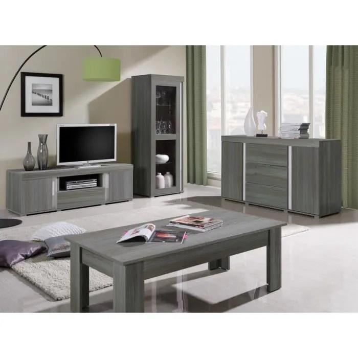 ensemble meuble tv bois gris lavigne meuble house