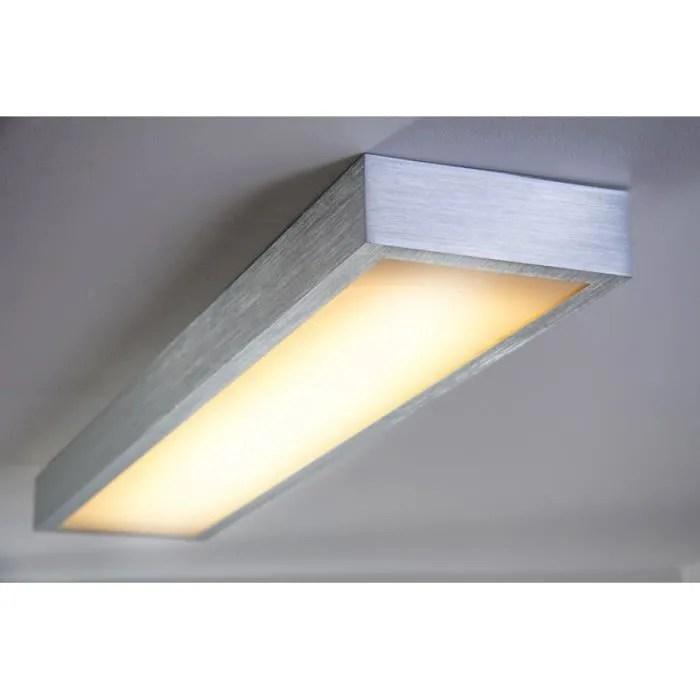 plafonnier led bureau rectangulaire neon luminaire