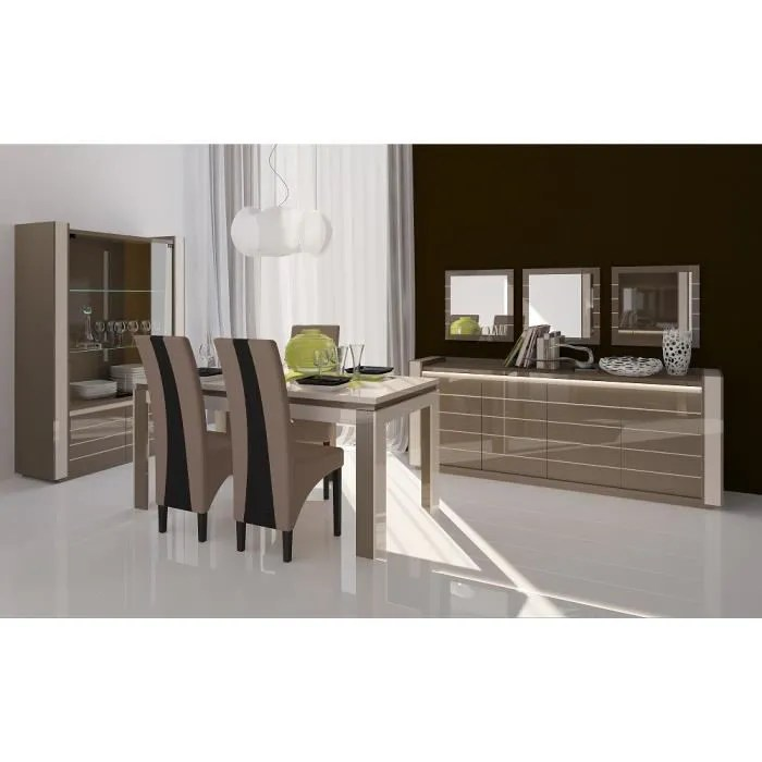 meuble de salon salle a manger lina 9 elements