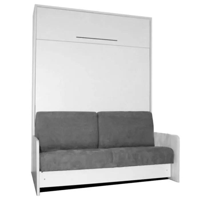 armoire lit escamotable 140cm