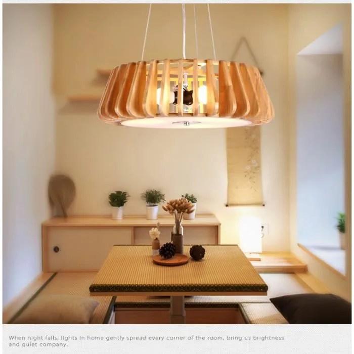 Lustre Et Suspension Lustre En Bois Design Moderne