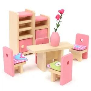 maison poupee meuble poupee mobilier maison diette bois jouet en