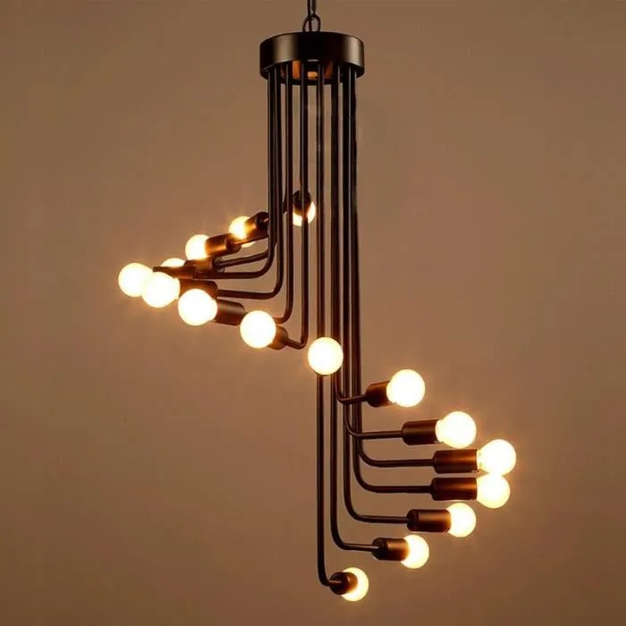 Trendy Lustre Et Suspension Suspension Fer Forg Lampe