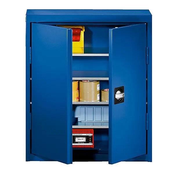 armoire de bureau eurokraft armoire d atelier en tole