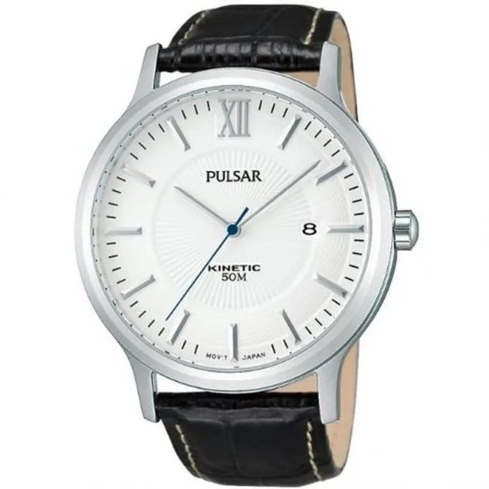 Montre Pulsar Bracelet Acier Noir