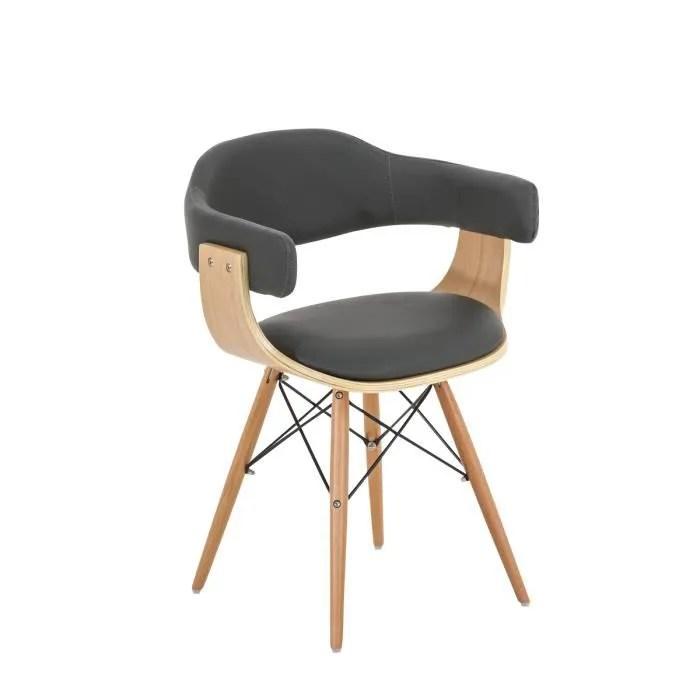 Fauteuil De Bureau Gris Maison Design