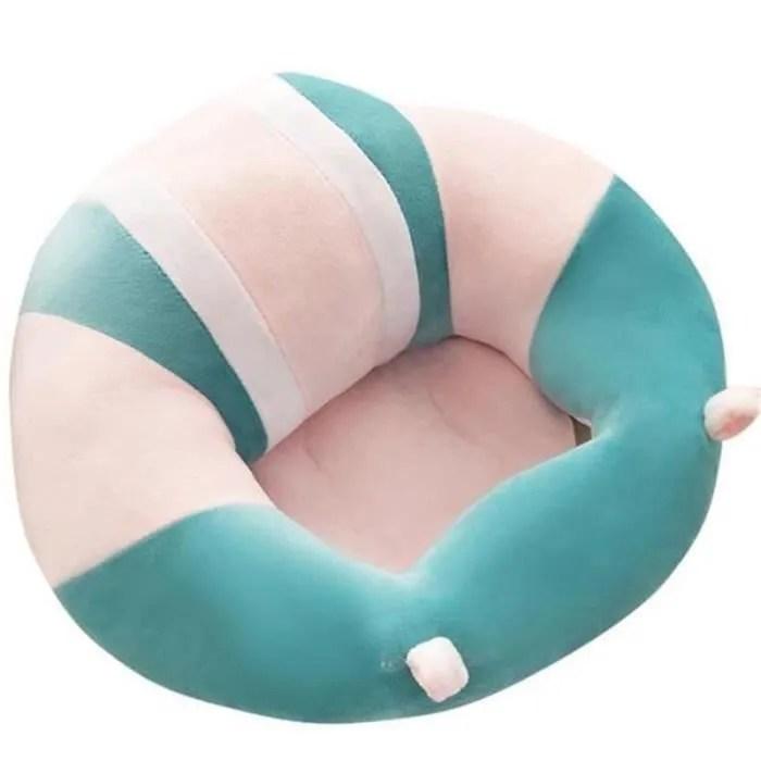 canape siege chaise bebe tout doux assis confort peluche jouet support pour fille garcon dans maison 3 16 mois bleu