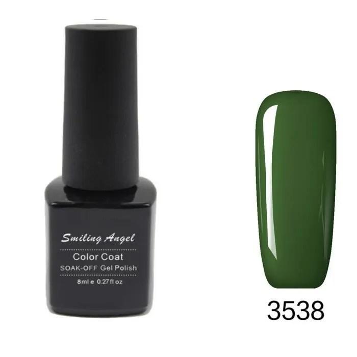 Ongle En Gel Vert Affordable Modele Ongle Gel Decoration