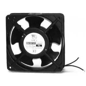 aeration ventilateur axial silencieux fd carre 80x25
