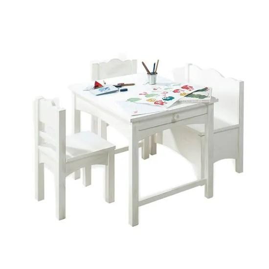 table et chaise table enfant 2 chaises 1 banc best of