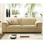 canape 3 places beige en cuir achat vente canape sofa divan cdiscount