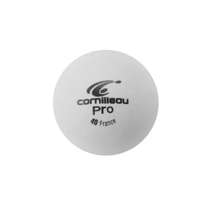 CORNILLEAU 6 Balles Pro Blanches Prix Pas Cher Cdiscount