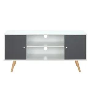 meuble tv babette meuble tv scandinave pieds en bois gris fo