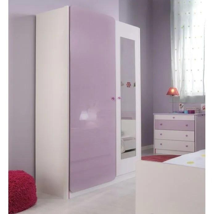ladys armoire 2 portes et miroir