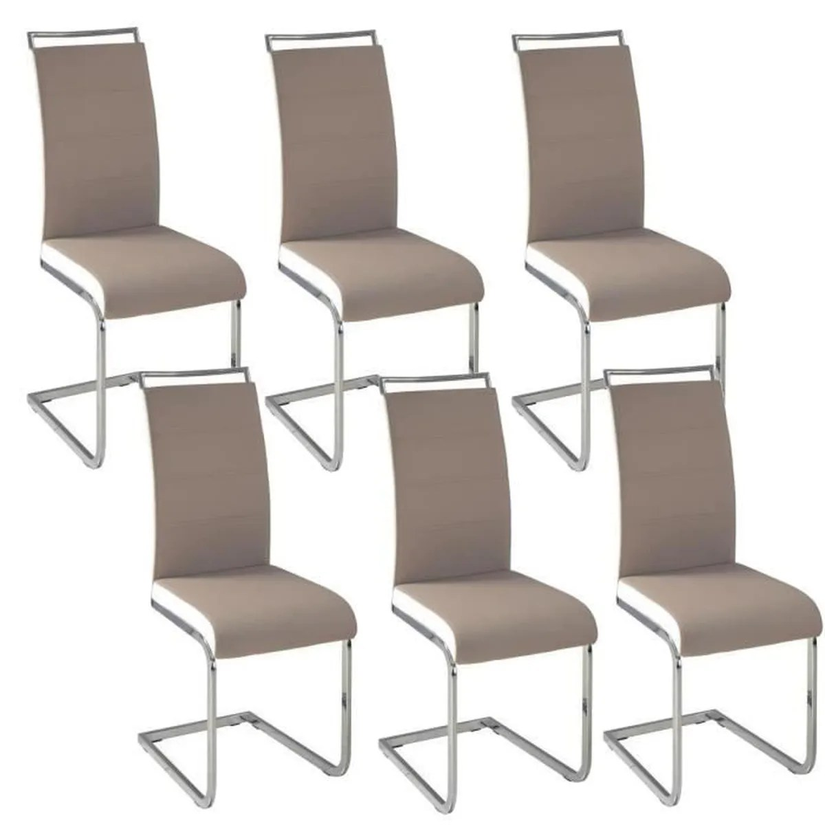 Chaises Taupe