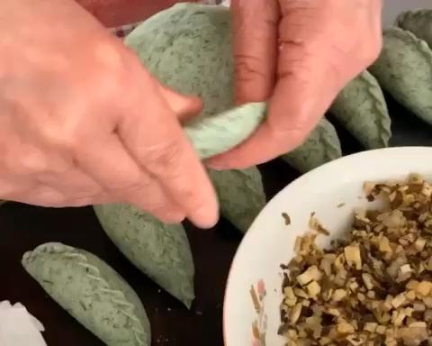 清明饺,菜包饺,清明粿,艾饺视频