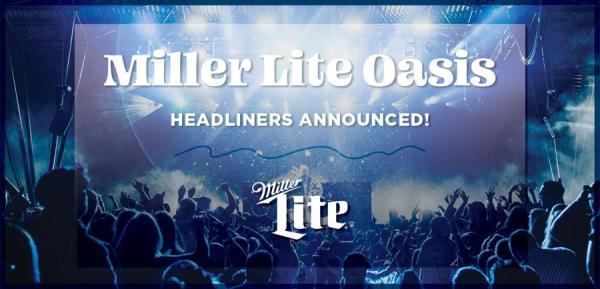 Summerfest Announces Miller Lite OasisHeadliners and Performance Dates