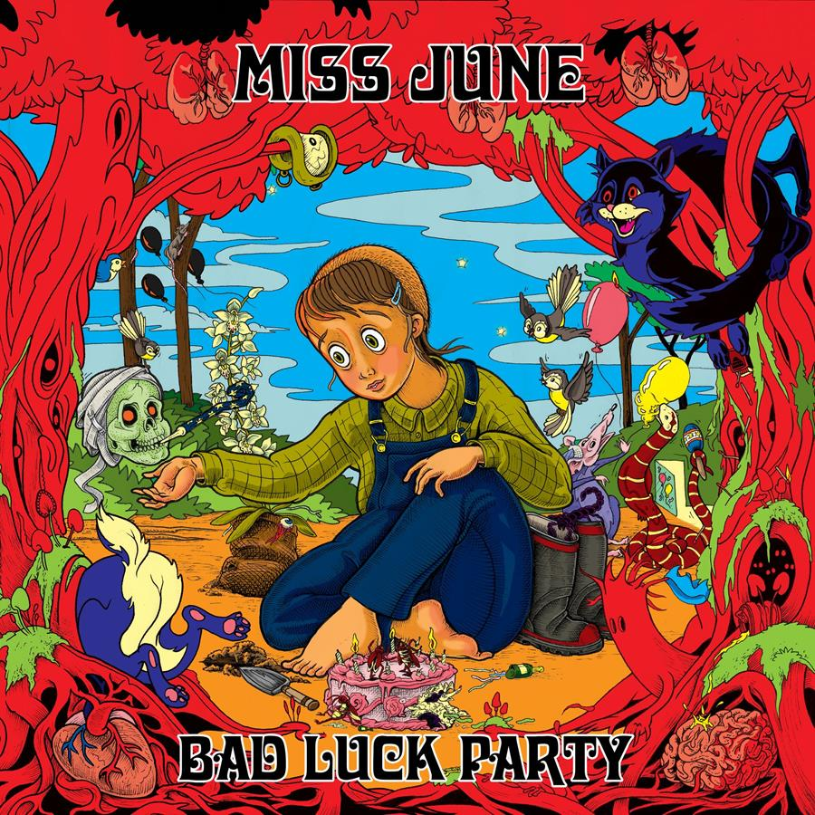 Miss June Bad Luck Party cover art
