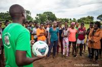 Football gear distribution
