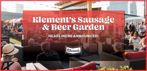 Summerfest Announces Klement's Sausage & Beer Garden Artists and Performance Dates