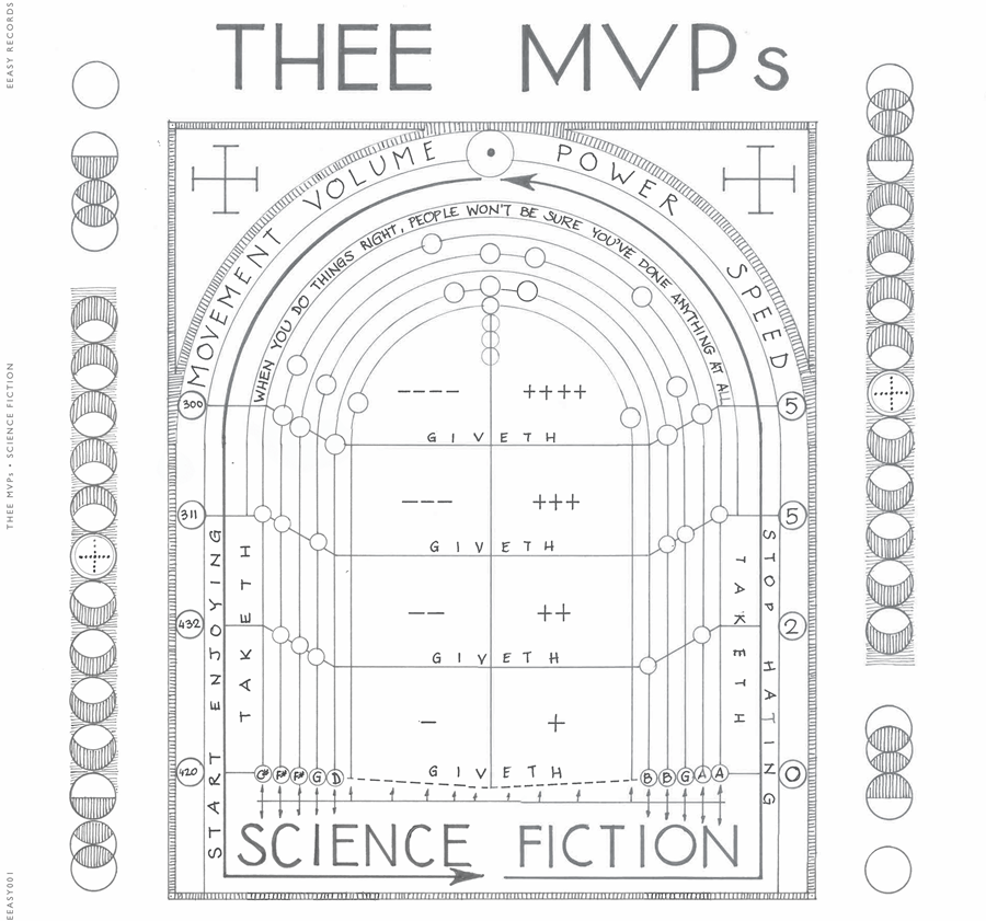 Thee MVPs Science Fiction cover artwork