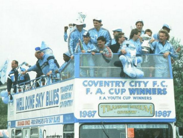 Image result for Sky Blues win the Fa Cup Picture