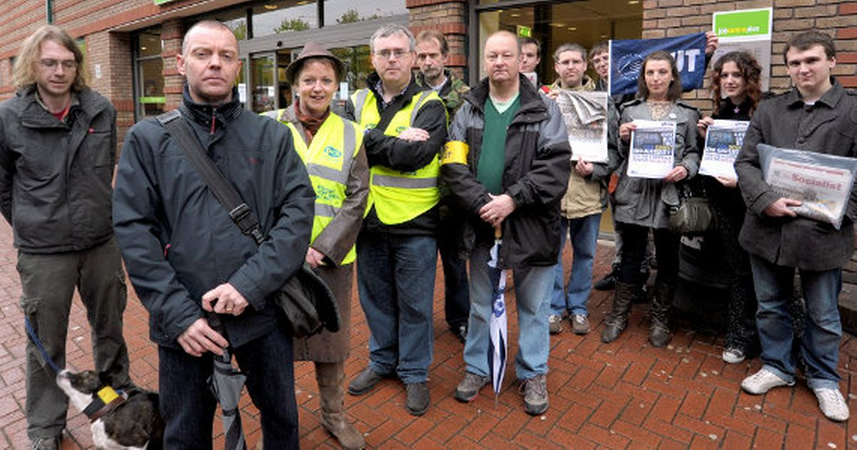 Image result for coventry jobcentre strike