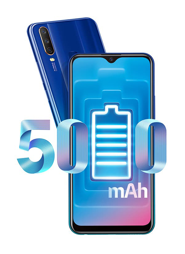 Смартфон VIVO Y15 4/64 GB Dual Sim Aqua Blue - в интернет ...