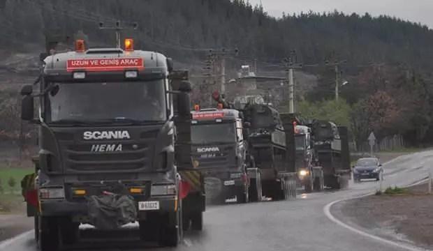 Suriye'ye zırhlı araç sevkiyatı 1