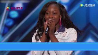 黑人小姐姐参加达人秀,一开口惊人的嗓音,连主持人都吓一跳!