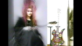 HIDE Interview 1993 (FERNANDES SUSTAINER GUITARS)