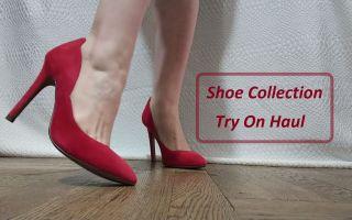 我的鞋子集合 Shoe Collection 试穿展示 Try On Haul | 高跟鞋、坡跟鞋、平底鞋