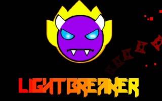 【几何冲刺】Easy demon中的战 斗 机---light breaker