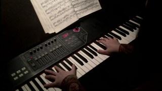 《西部世界》片头曲钢琴翻奏,简单易学