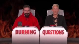 "Shia LaBeouf Answers Ellen's ""Burning Questions"""