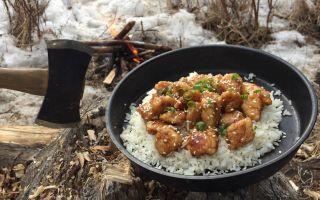 Kusk Bushcraft / 在冬季的丛林里露营~篝火与烹饪