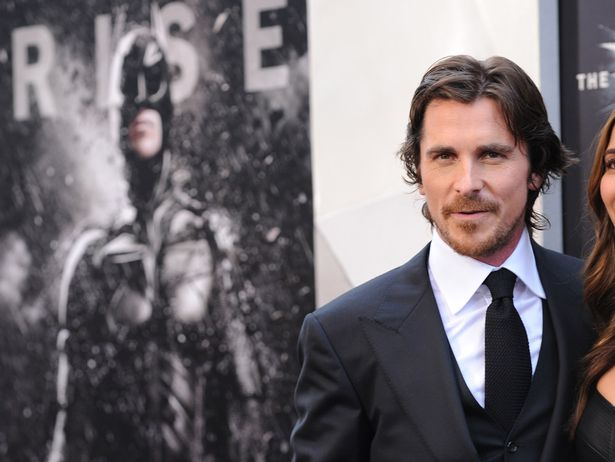 Image result for Christian Bale Batman Dark Knight rises year