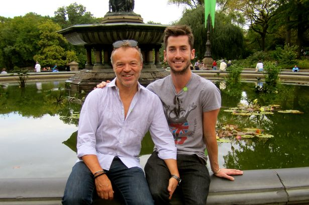 Graham Norton On Trevor Patterson Tell All Ex Couldnt