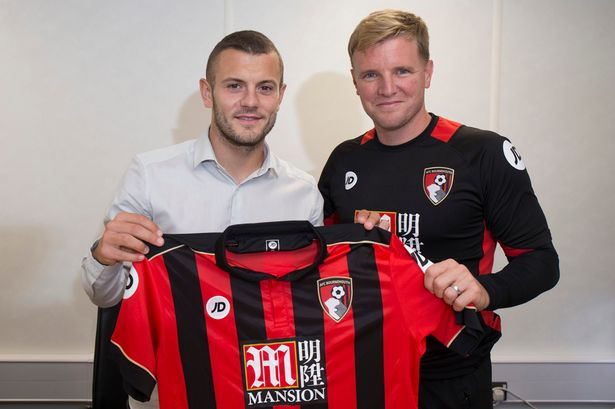 Image result for jack wilshere sign for bournemouth